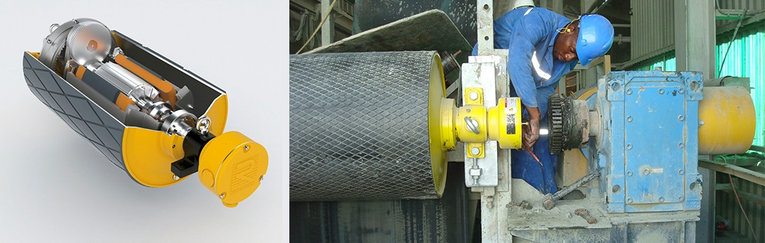 melco motorized pulleys melco conveyor equipment