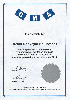 CMA Certificate